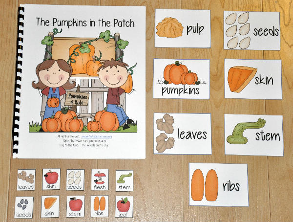 """The Pumpkins in the Patch"" Adapted Song Book"