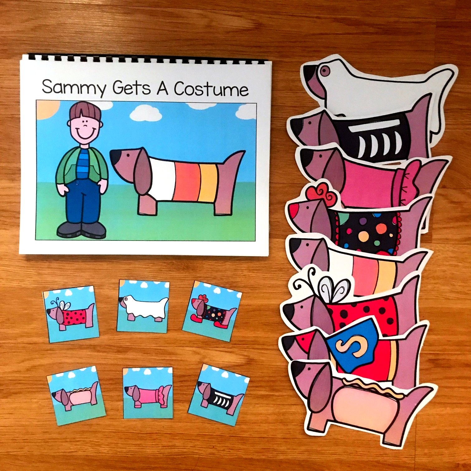 "Halloween Adapted Book: ""Sammy Gets A Costume"""