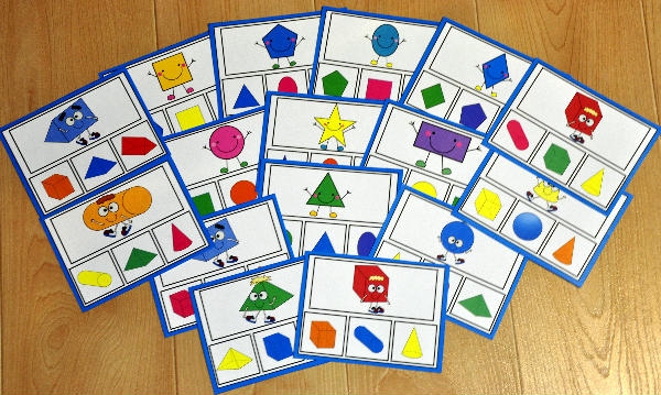 Shapes Task Cards