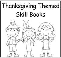 photo regarding Thanksgiving Printable Book identified as Thanksgiving Themed Printable Ability Guides - $2.00 : Record