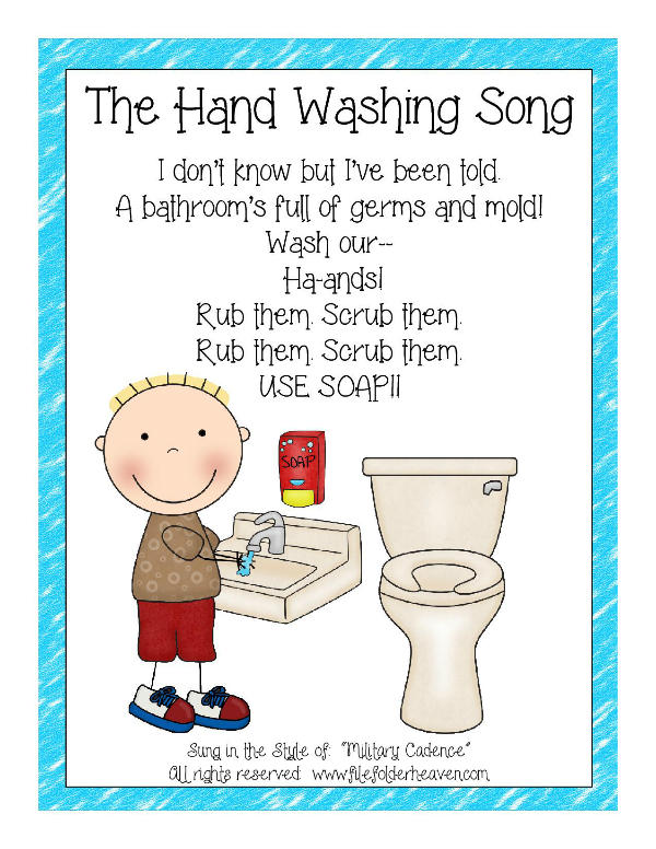 Home :: Autism Tasks :: Classroom Helpers :: The Hand Washing Song ...