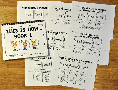 "Sequencing Activities: ""This Is How..."" Growing Bundle"