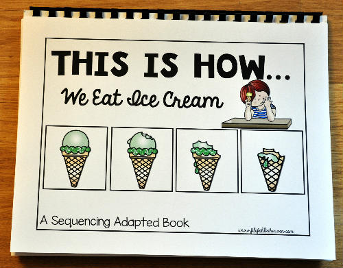 Ice Cream Sequencing Activities