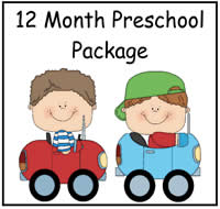 12 Month Preschool Package