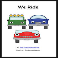 "The ""Ride"" Sight Word Adapted Book"