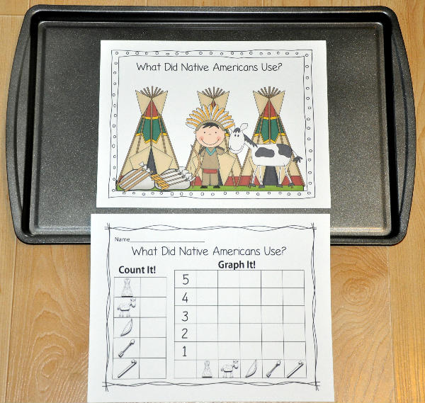"""What Did Native Americans Use?"" Intro to Graphing Activity"