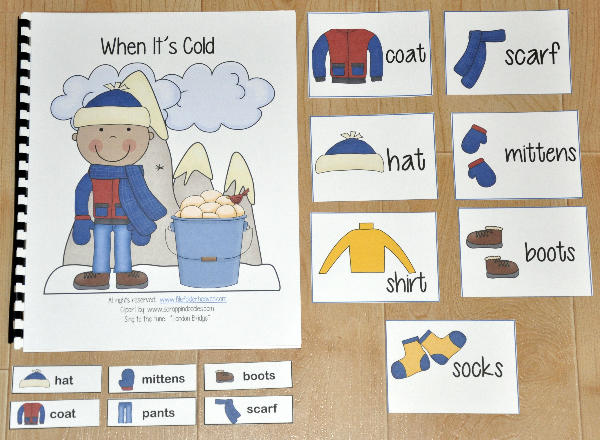 """When It's Cold"" Adapted Song Book"