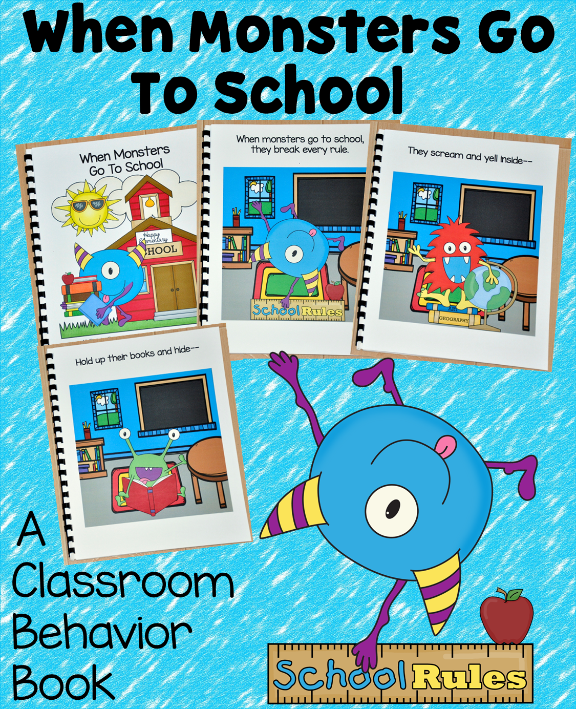 When Monsters Go to School Book