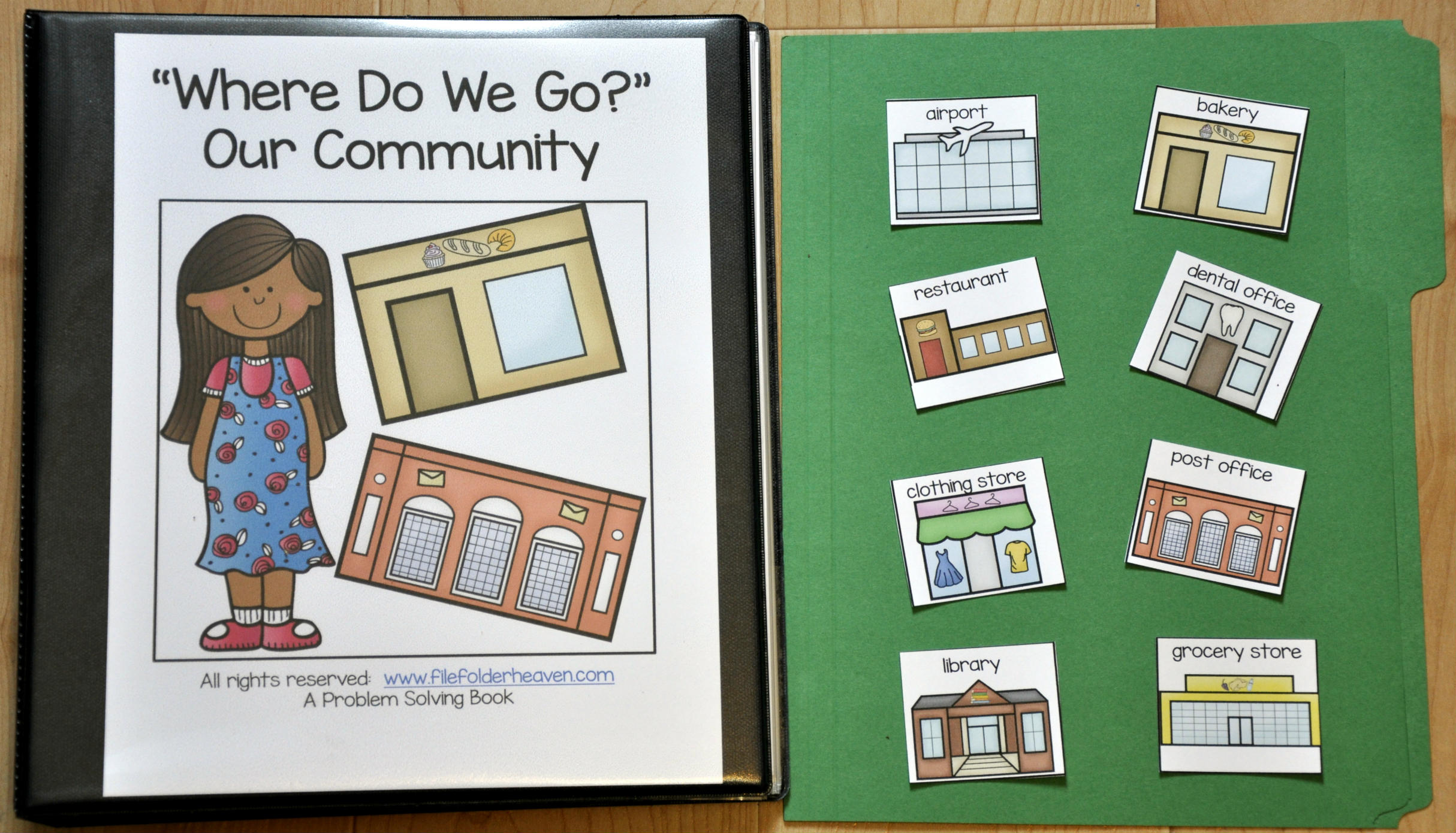 Where Do We Go? Adapted Book (Our Community Edition)