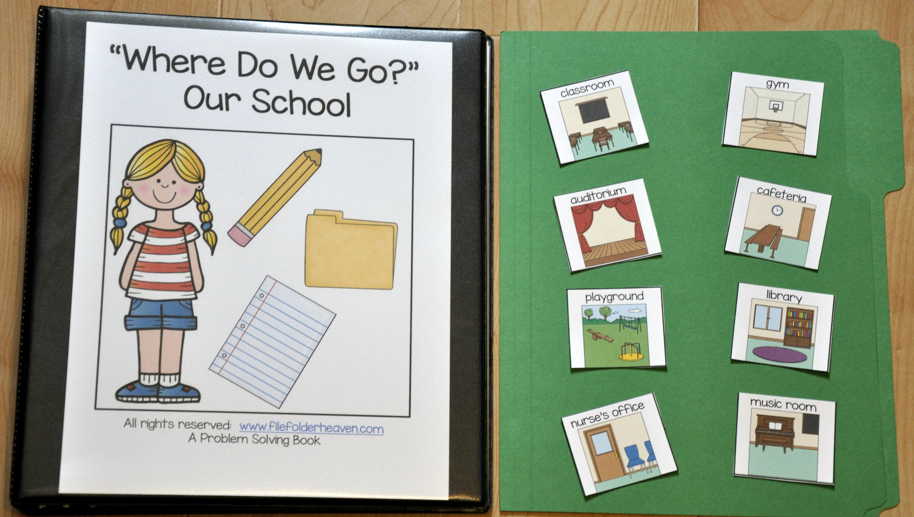 Where Do We Go? Adapted Book (Our School Edition)