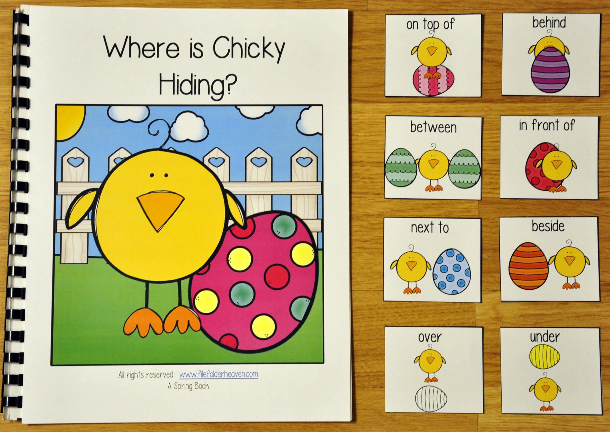 """Where is Chicky Hiding?"" Adapted Book"