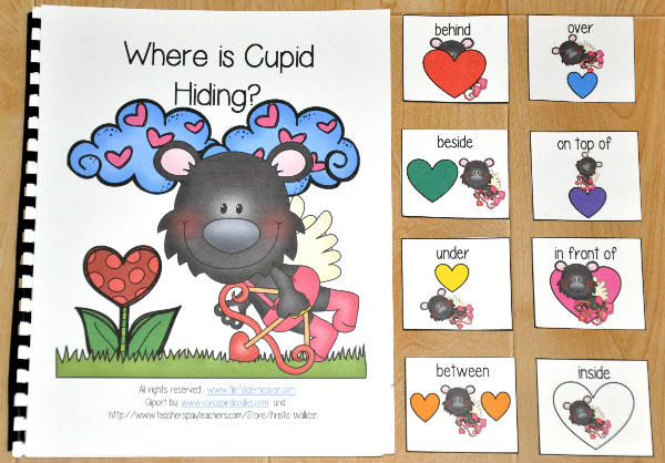 """Where is Cupid Hiding"" Adapted Book"