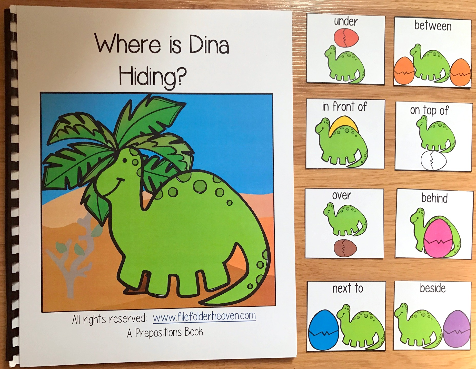 """Where is Dina Hiding?"" Adapted Book"