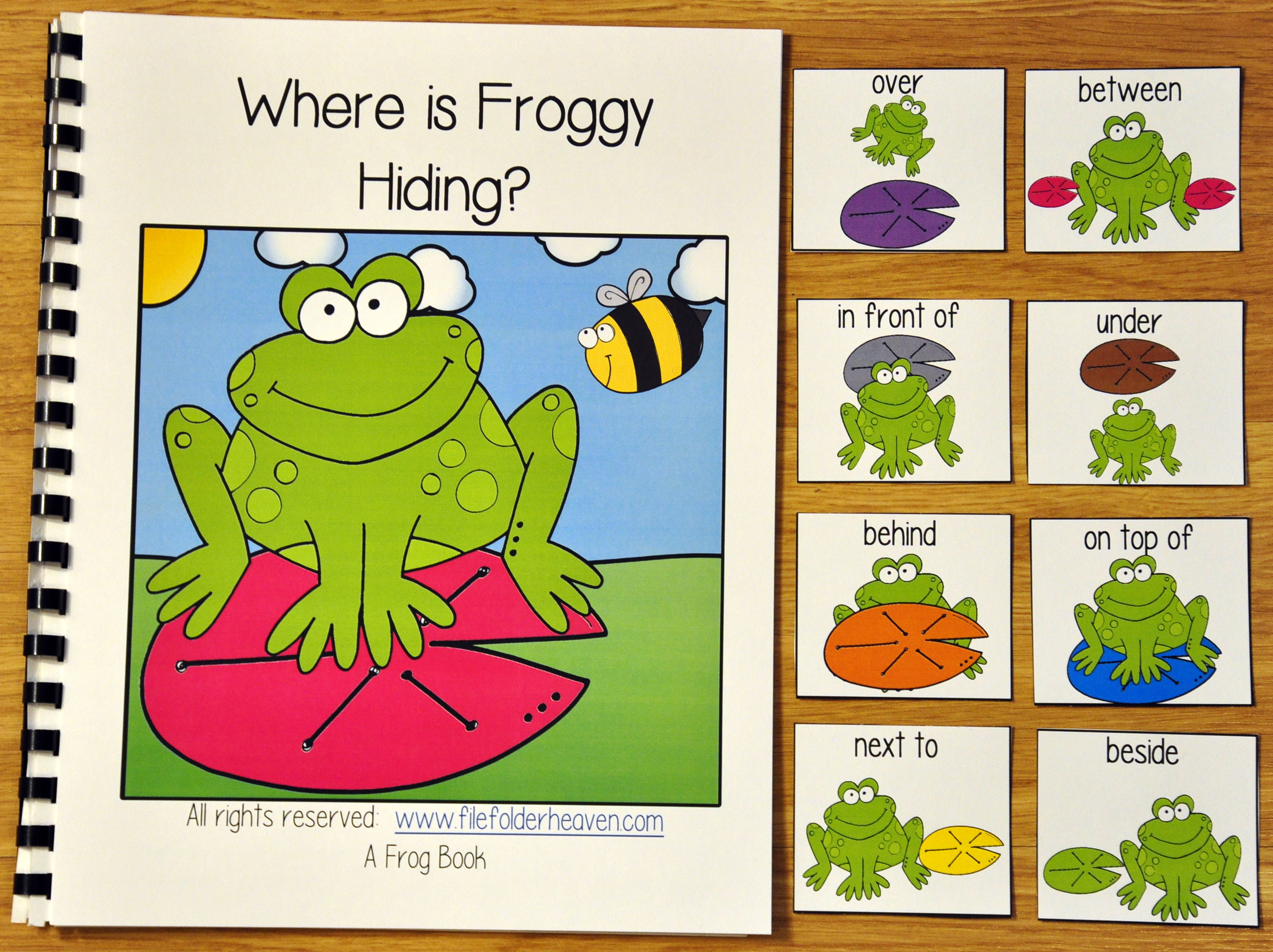 """Where is Froggy Hiding?"" Adapted Book"