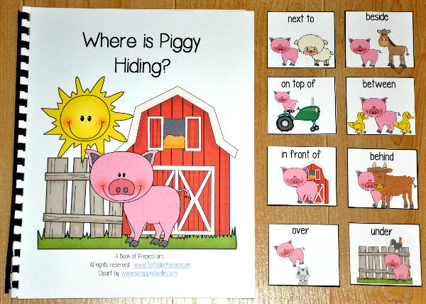 """Where is Piggy Hiding?"" Adapted Book"