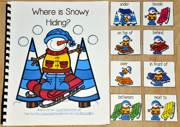 """Where is Snowy Hiding?"" Adapted Book"