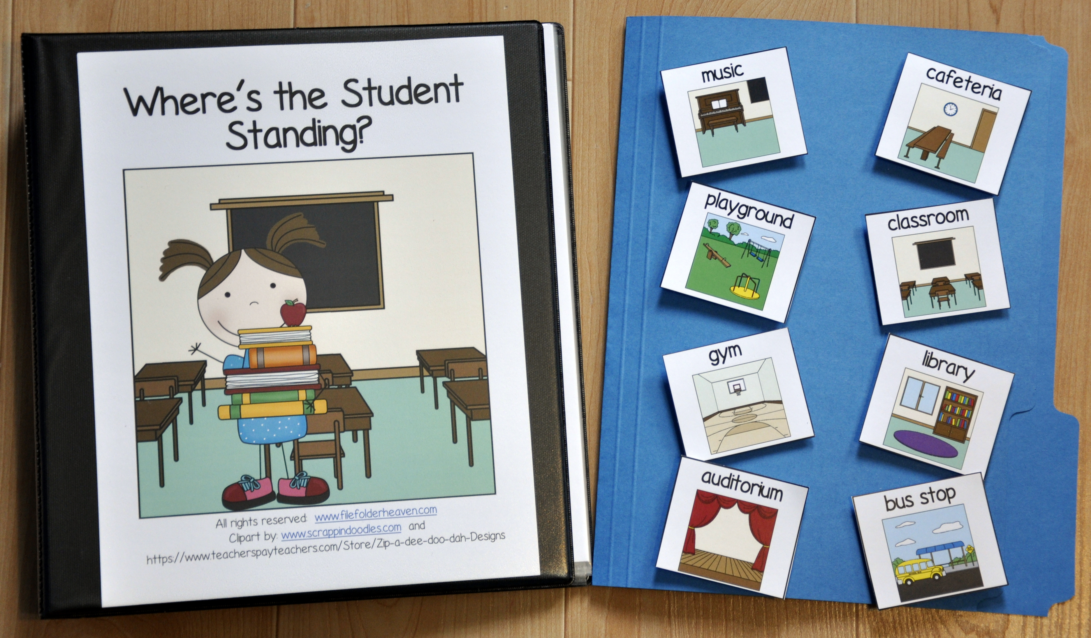 """Where's the Student Standing?"" Adapted Book"