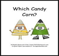 Which Candy Corn is Which Riddle Book
