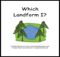 Which Landform is Which I Riddle Book