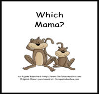 Which Mama is Which Riddle Book