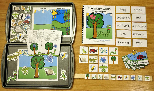 The Wiggly Wiggly Inchworm Adapted Book Unit